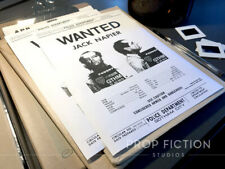 Batman - Pair of Prop Gotham City Police Jack Napier Wanted Posters / Flyers