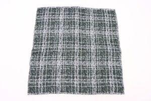 NWT Brunello Cucinelli Men's Linen-Cotton Multi-Color Plaid Print Pocket Sq A176