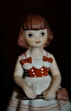 Betsy McCall porcelain figurine Give A Doll Tea Party 1951 Heirloom Tradition