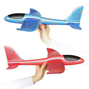 Hand Launch Throwing Glider Aircraft Foam EPP Airplane Plane Model Outdoor Toy D