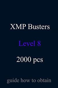 XMP Busters L8 2000 pcs