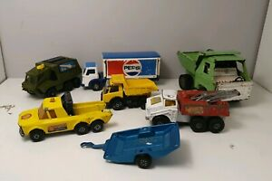 Toy cars die cast Tonka, Matchbox, Clover Toy Army, Shell ,Pepsi, Truck 1970s