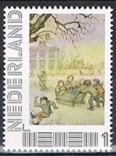 Persoonlijke zegel Anton Pieck postfris MNH 03: Op gladde ijzers