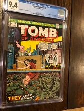 Tomb Of Darkness #9 CGC 9.4 NM 1st ISSUE Cont from Beware 8 White Pages Mint Box