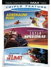 Pulse-Pounding Adventures Triple Feature: Adrenali (2013, DVD NEUF) WS3 DISC SET