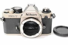 Excellent++  Nikon New FM2/T 35mm SLR Titan film Camera from Japan #133