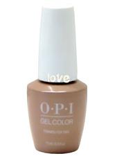 Opi GelColor New Gel Nail Polish Soak-Off Gc V28- Tiramisu For Two