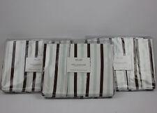Restoration Hardware baby&child italian contrast stripe twin bed skirt
