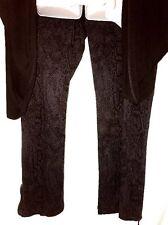 plus sz XS / 14 VIRTU TS TAKING SHAPE stretch Snake print jeans pants  NWT