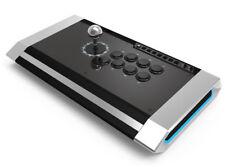 Qanba Obsidian Arcade Fight Stick PS4 PS3 PC LED - Brand New !