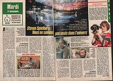 Coupure de presse Clipping 1987 Steven Spielberg  (2 pages)