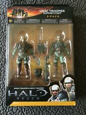 New ListingHalo Reach Unsc Trooper Support Staff 2-Pack Series3 New