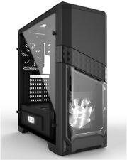 AZZA Gaming Gehäuse Computer Titan 240X Midi Tower schwarz - ohne Netzteil