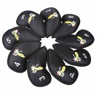 9 x Golf Iron Cover for TaylorMade Callaway Ping MIZUNO Cobra Iron Club Cover
