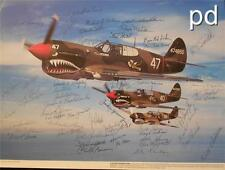 "RARE AVG ""FLYING TIGERS"" 1988 FLORIDA REUNION PHOTO - 52 SIGNORS - EXC."