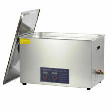 VEVOR Stainless Steel 30l 1400W Timer Heated Ultrasonic Cleaner