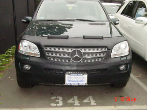 Colgan Front End Mask Bra 2pc.Fits Mercedes Benz ML350 2006-2008 W/O License