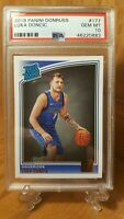 2018-19 Donruss Rated Rookie #177 Luka Doncic Dallas Mavericks PSA GEM MINT 10