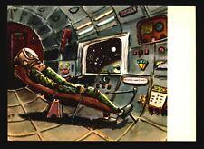 Space Postcard - Early Russian Cartoon PPC (IV) - L533