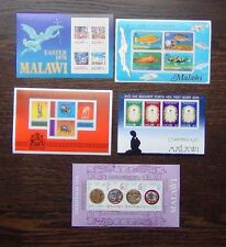 Malawi 1975 1976 Christmas 1977 Fish Transport Handicrafts 1978 Easter M/S MNH