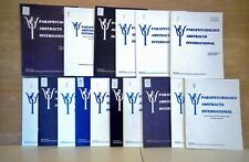 14 issu+ Index Parapsychology Abstracts International V. 1 to 7 1983-89 complete