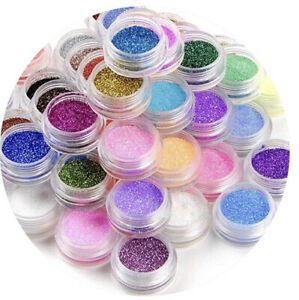 Loose Glitter For Nails Lips Face Eyes Body And Hair Select Colour