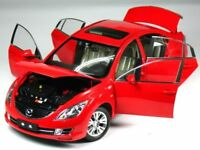 LARGE Scale, Model Car, Mazda 6, 2009 - Red   1/18 Scale - Paudi Diecast