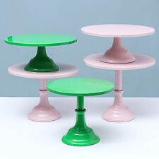11'' Iron Round Cake Stand Pedestal Dessert Holder Wedding Birthday Party
