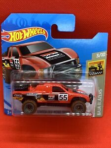 2021 Hot Wheels #4 Toyota Off Road Truck (Red- Case G Short Card) New & Unopened