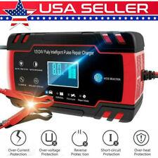 Portable Car Truck Emergency Battery Charger Jump Starter 12V/24V LCD Display US