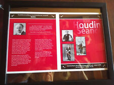 RARE AUTOGRAPHED! Souvenir Brochure from the Official 2004 Houdini Séance Lot G