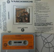 Eric Clapton, Jeff Beck y Jimmy Page THE YARDBIRDS Featuring SPANISH cassette