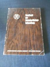 Holzoberflächenbehandlung-Handbuch -  Nachschlagewerk für fachgerechte Bearb.