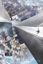 The Walk Advance B Original  Movie Poster Double Sided 27x40