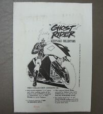 THE GHOST RIDER ~  Keepsake Collection ~ Limited Edition ~ Number 4866 Of 5000!!