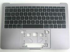 "Apple MacBook Pro 13"" A1708 2016 2017 Palmrest Cover Space Grey UK Keyboard B"