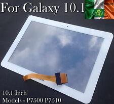 Samsung Galaxy Tab P7500 P7510 10.1 Touch Screen Digitizer Lens Glass White