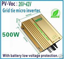 Grid Tie Inverter PV-Voc input 22-42v AC190-260V For 24V Battery in grid
