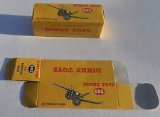High Quality Reproduction Dinky Military Boxes - 692 5.5 Medium Gun