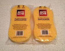 Genuine AutoGlym Hi-Tech Polish Applicator Sponge x 2