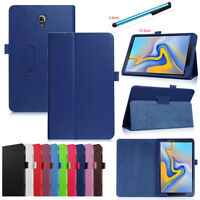 """For Samsung Galaxy Tab 3 4 A E 7""""- 10.5"""" Tablet Case Folio Stand Leather Cover"""