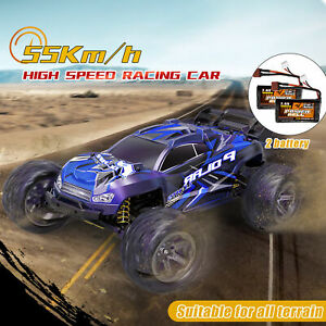 Remote Control RC Monster Truck 45km/H 4WD Off-Road 1/8 Racing Car Toy RTR