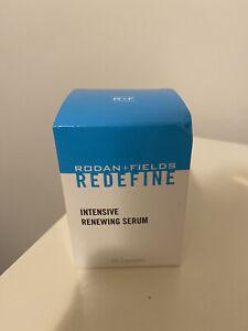 Rodan and Fields REDEFINE Intensive Renewing Serum 60 Caps NEW & SEALED