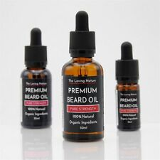 Premium Beard Oil 100% Natural Organic Ingredients, Vegan | 9 Scents - 3 Sizes