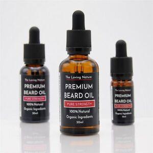 Premium Beard Oil 100% Natural Organic Ingredients, Vegan | 9 Scents - 3 Sizes