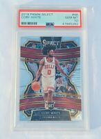 Coby White ROOKIE PSA 10 Chicago Bulls 2019-20 Select Concourse #48