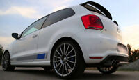 SPOILER ALETTONE POSTERIORE VW POLO 5 6R ( dal 2009 ) POLO R WRC STILE