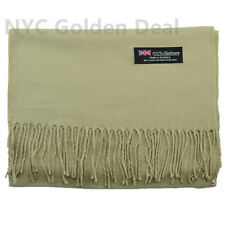 2986ff9bd Men Women 100 Cashmere Scarf Scotland Pure Solid Color Design Super Soft