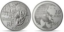 FRANCE 10 Euro Argent BE 2011 Littérature Cosette - Silver coin