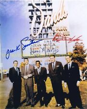 THE RAT PACK CAST SIGNED 8x10 RP PHOTO DEAN MARTIN FRANK SINATRA SAMMY JR